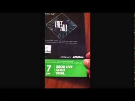 xbox 7 day trial free free 7 day xbox live trial giveaway