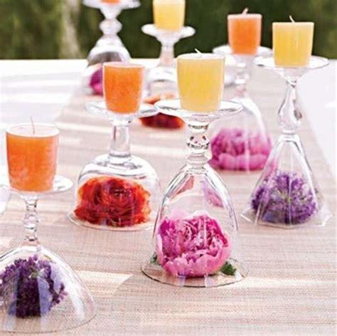 candele e fiori portacandele fai da te foto design mag