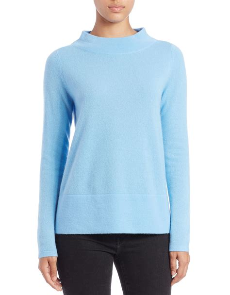 blue boat neck sweater lord taylor boat neck cashmere sweater in blue blue