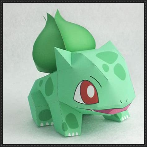 Bulbasaur Papercraft - bulbasaur papercrafts papercraftsquare