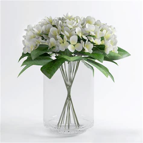 glass vase  flowers  model ds max files