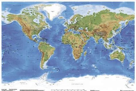 erth map planetary visions map of the earth poster buy