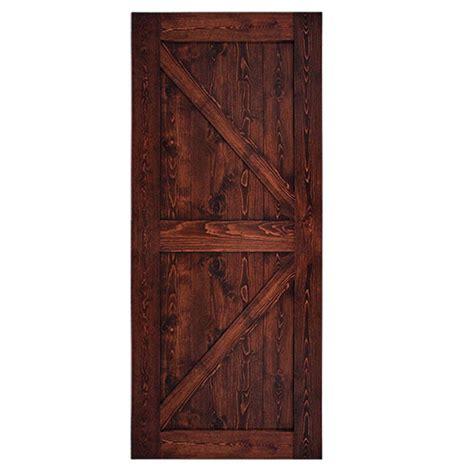 Quiet Glide 36 In X 84 In 2 Panel Barn Solid Core 36 X 84 Interior Door