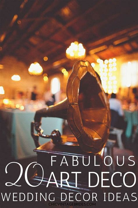 fabulous artificial wedding centerpieces decorating ideas 20 fabulous decor ideas for an art deco wedding art deco