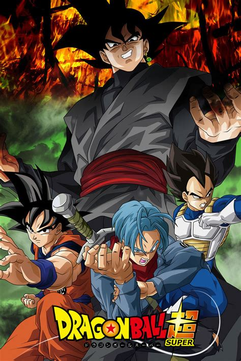 Black Saga z poster black goku trunks saga 12in x