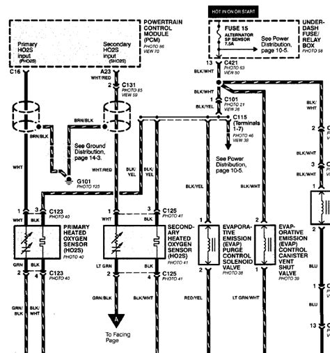 1999 honda civic o2 sensor wiring diagram free