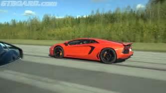 Ferraris And Lamborghinis 599 Gto And Lamborghini Aventador Go