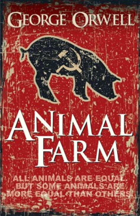 biography of george orwell author of animal farm animal farm by george orwell buy paperback edition at