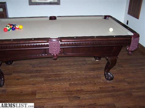slate top pool table armslist for sale 8 pool table slate top