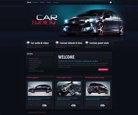template siti web 25875 per un sito di auto tuning