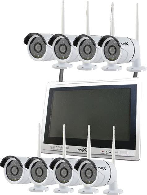camerasysteem draadloos buiten bol cctv camerasysteem set 8 camera s draadloos