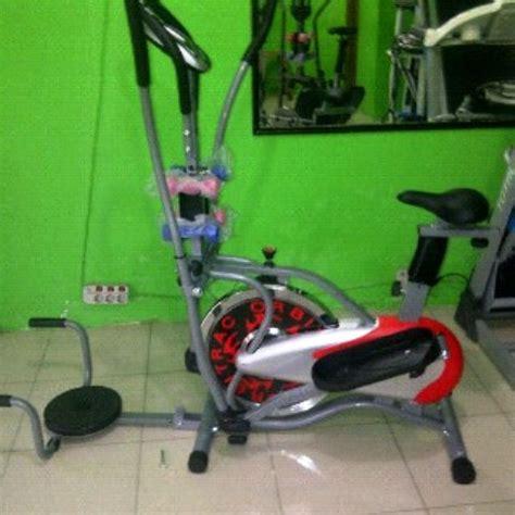 Orbitrack Plat New orbitrack sepeda platinum 5in1 elliptical alat fitness