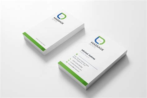 Creative Business Cards Design Templates by Message Creative Business Card Design Template 001793