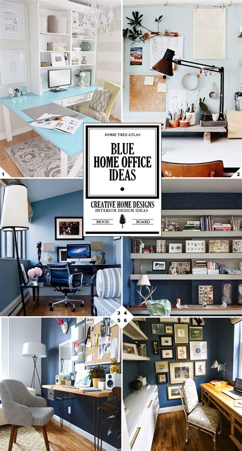 Home Office Design Guide Style Guide Blue Home Office Ideas And Designs Home
