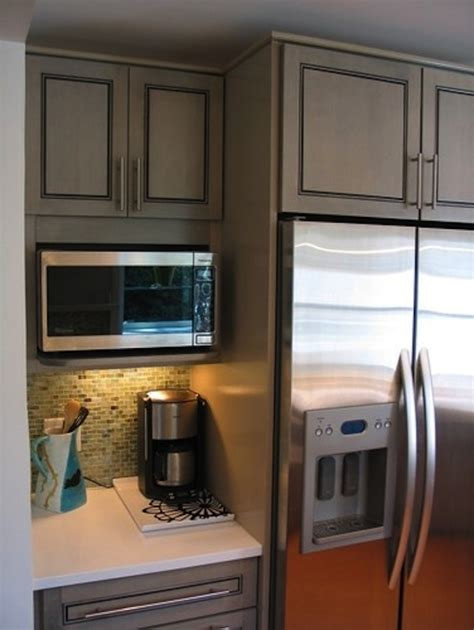 Kitchen Cabinets With Microwave Shelf 15 Microwave Shelf Suggestions