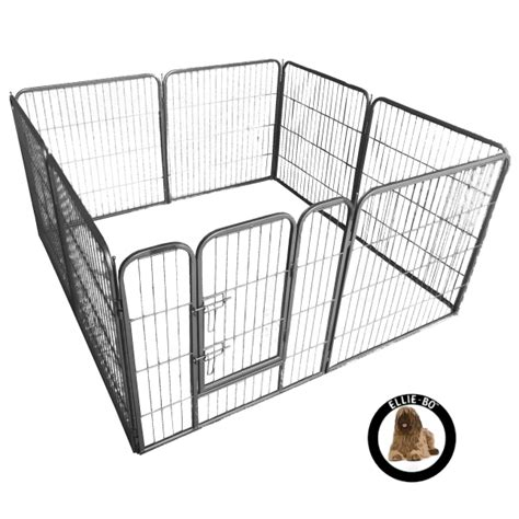 puppy pen ellie bo heavy duty 6 puppy pen 80cm high only cages co uk