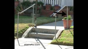 handrail kits outdoors the cheapest exterior stair handrail money saving ideas