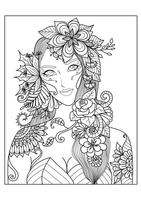 free printable coloring pages for adults advanced free printable coloring pages for adults advanced flowers