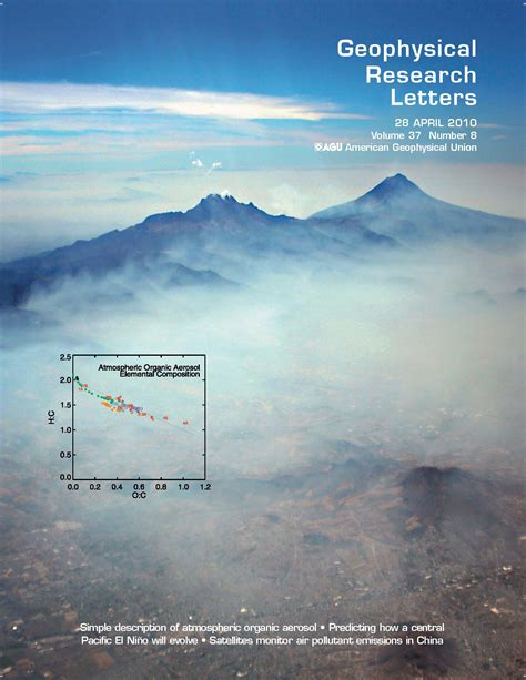 Geophysical Research Letter Jimenez Publications