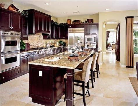 Light Kitchen Flooring Wood Kitchen With Light Tile Floor Home