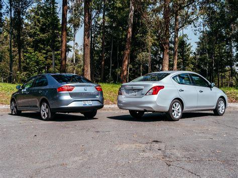 Nissan Toledo by Comparativa Nissan Versa Vs Seat Toledo Autocosmos