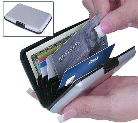 Security Wallet Credit Card Lock Dompet Kartu Lock Wallet Secure Rfid wallets holders security credit card wallet rfid