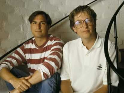 biography of bill gates and steve jobs bill gates on steve jobs business insider