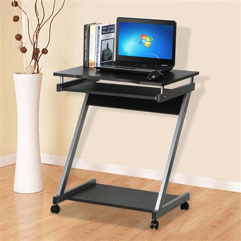 Corner Laptop Desks For Home Corner Computer Desk Small Spaces On Castors Pc Table Bedroom Home Office Study Yahee Uk