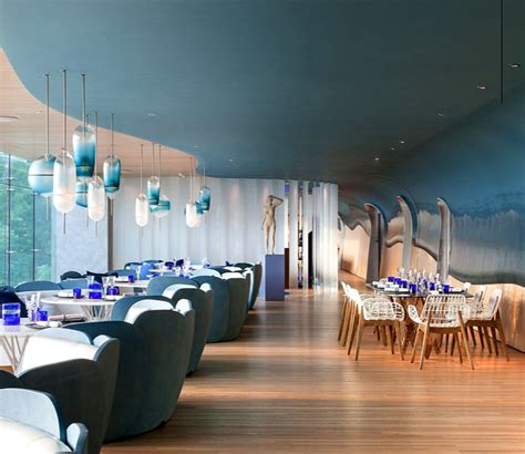 Trends In Furniture the ocean restaurant created by substance design studio