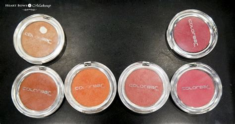 illusions color spa colorbar cheek illusion blush swatches shades price