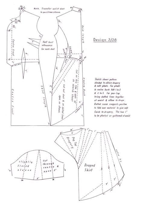 1940s Costume History   1948 Free Pattern Cutting Fashion