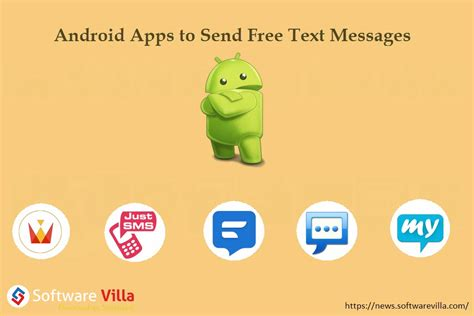 how to get free android apps 5 best android apps to send free text messages