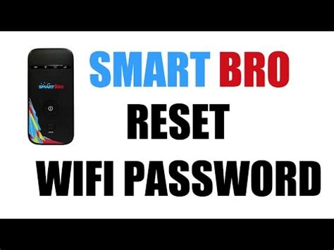 resetting wifi password unboxing smart bro 4g lte pocket wifi insert sim and b