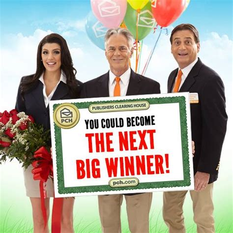 Publishers Clearing House Announcement On Nbc - how about some good news for a change pch blog