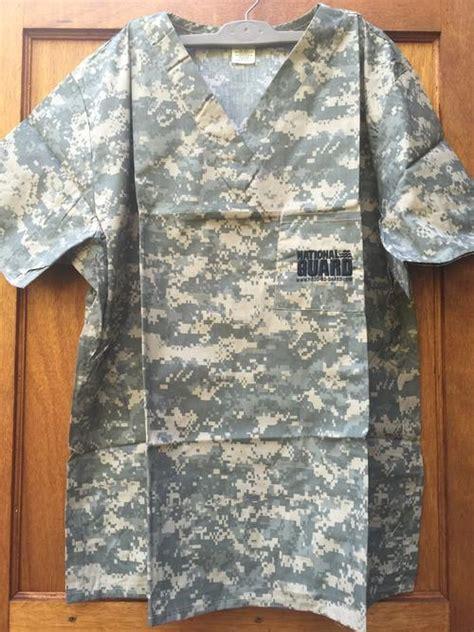 Army Acu Pattern Scrubs | uniforms us army acu pattern camo scrubs xxl m was