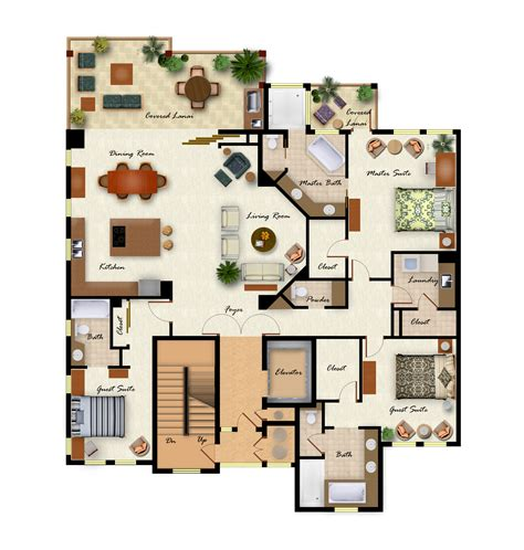create floor plans villa design plans alluring villa designs and floor plans