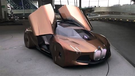 futuristic cars bmw bmw quot vision 100 quot futuristic concept car 2016