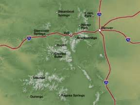 map of vail colorado and surrounding areas resort locations colorado lifestyle real estate