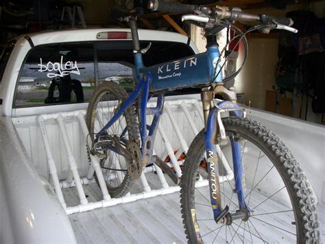 bike rack for pickup bed truck bed bike rack plans bed plans diy blueprints