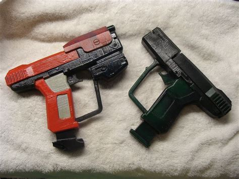 tough abs plastic halo inspired cosplay toy gun pistols