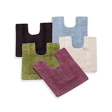 contour bath rugs wamsutta 174 20 inch x 24 inch reversible contour bath rug bed bath beyond