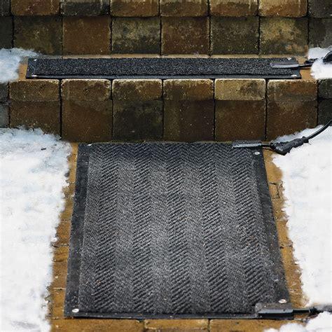 Heated Door Mat Outdoor Heated Stair Mats Starter Kit Traditional