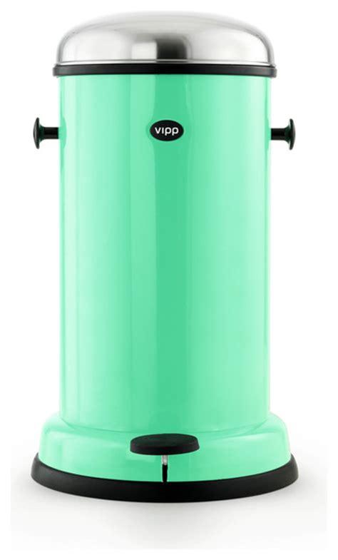 vipp vipp 15 copenhagen green pedal bin eclectic