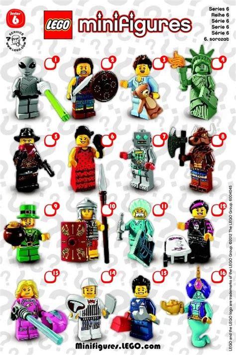 Lego Minifigures Series 6 8827 Butcher Minifigure Seri 6 14 Misp lego minifigures series 6 minifigure checklist lego