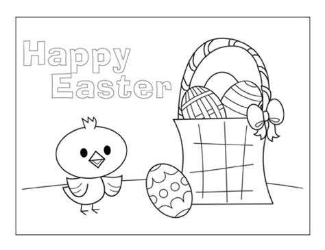 easter cards colouring template free printable coloring easter cards