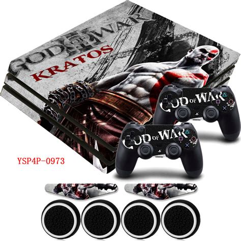 Ps4 Sticker God Of War by God Of War Hd Vinyl Ps4 Pro Protector Sticker 2x