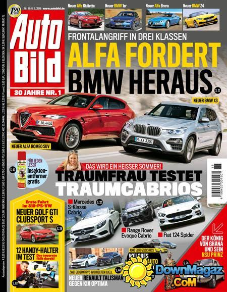Auto Bild 6 2016 by Auto Bild 6 05 2016 187 Pdf Magazines
