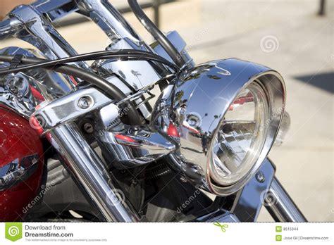 Scheinwerferhalter Motorrad by Motorrad Scheinwerfer Stockbilder Bild 8515344