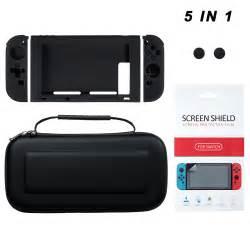 Ekslusive Travel Bag In Bag 5in1 Termurahlterlaris for nintendo switch pet screen protector 5in1 accessories carrying ebay