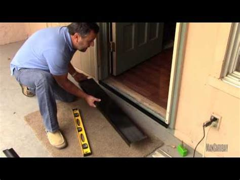 secutity screen door gap seal kit installation